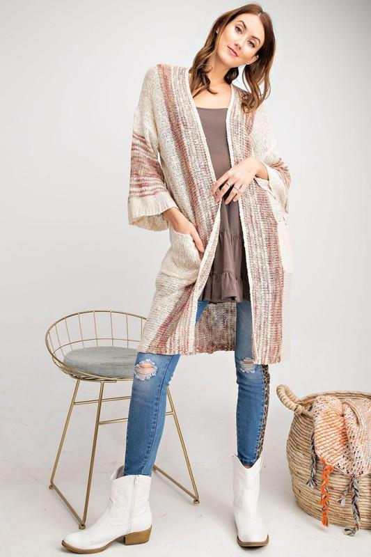 Boho Knit Cardigan-Final Sale