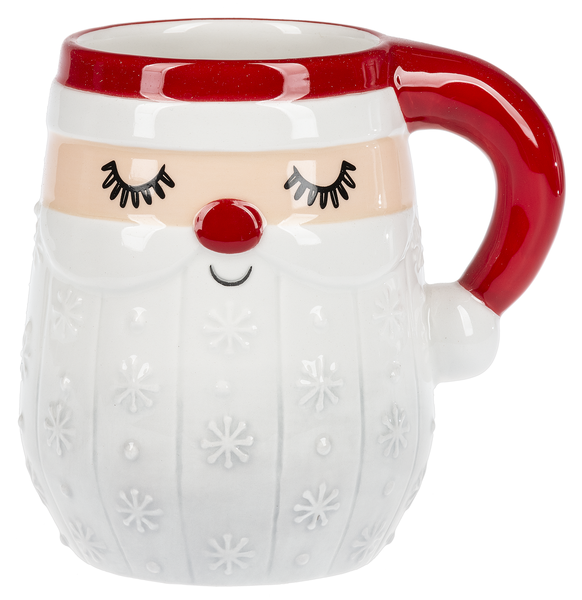 Cheerful Santa Mug