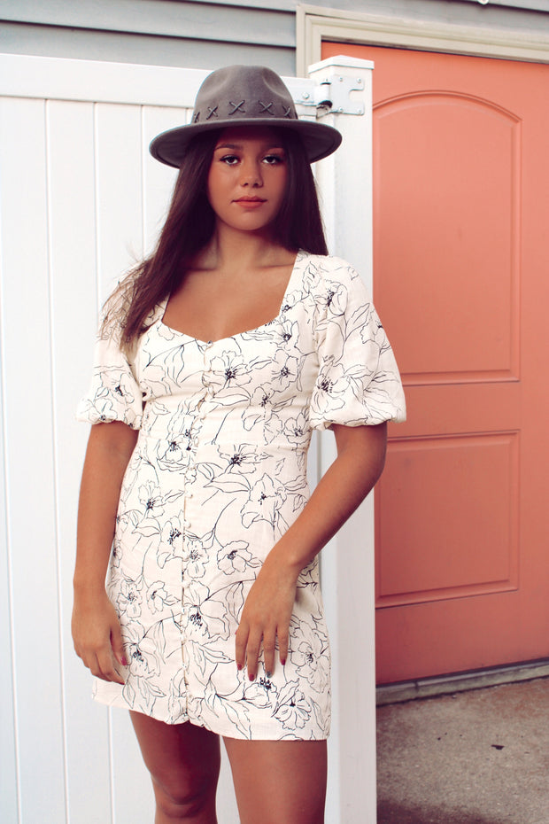 Chase The City Floral Dress