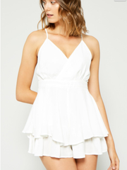Ruffled Romper (more colors available)