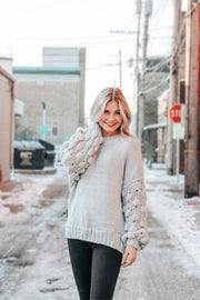 Forever a Dream Dotted Pullover Sweater