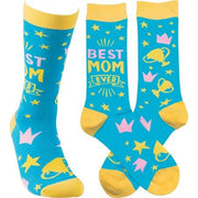 Best Mom Ever LOL Socks