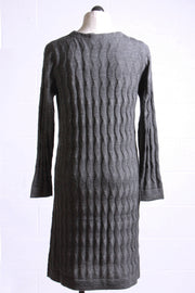 Two Danes Mellow Sweater Dress Charcoal 43711