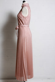 Frank Lyman Metallic Pink Dress