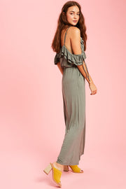 Mix It Up Ruffle Jumpsuit