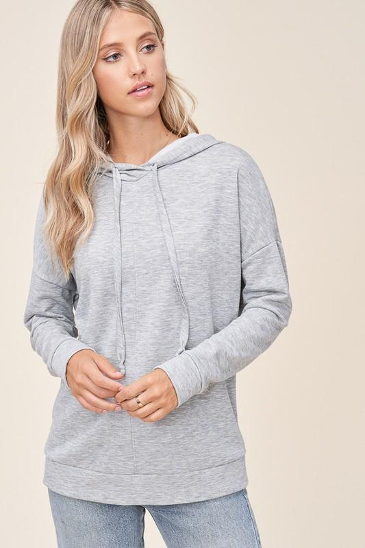 Since I Fell For You Heather Grey Hoodie
