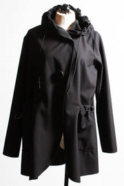 Cameleon Soft Shell Jacket Textured Black Trudy
