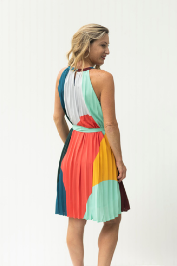 Craving Color Halter Dress