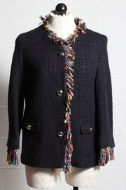 Vilagallo Paula Jacket Navy 26704