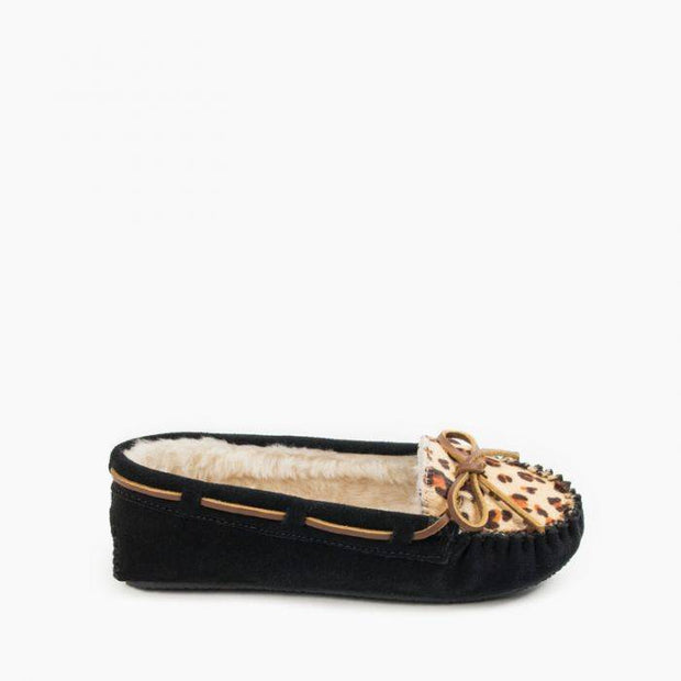 Leopard Cally Slipper-Final Sale
