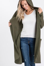 Brunch on a Sunday Hooded Cardigan