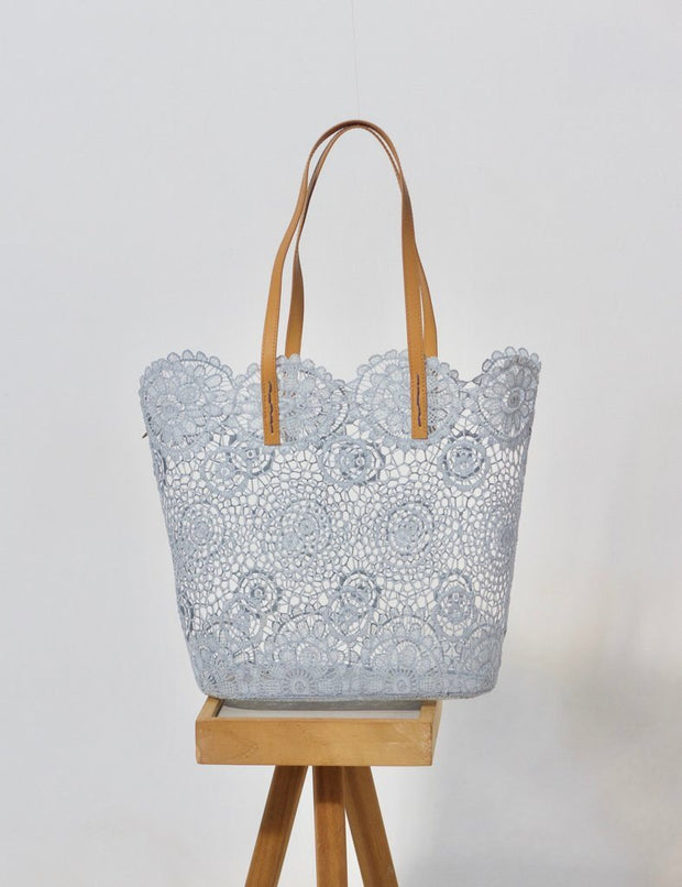 Holbox Ice Blue Tote