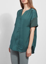 Lysse Leah Short Sleeve Top