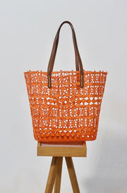 Holbox Orange Tote