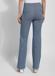 Lysse Patterned Denim Trouser