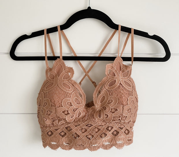 HAVE TO HAVE IT BRALETTE (SALMON)