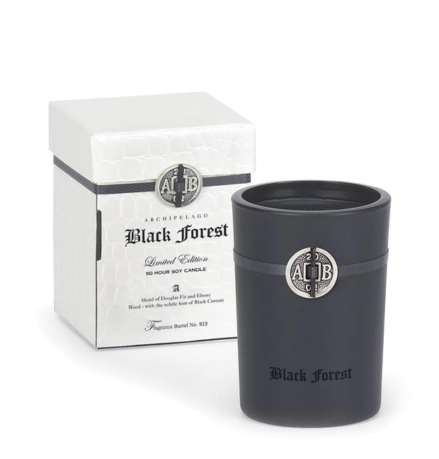 Archipelago - Black Forest Boxed Candle