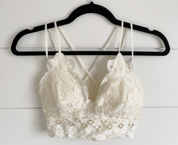 HAVE TO HAVE IT BRALETTE (CREAM)