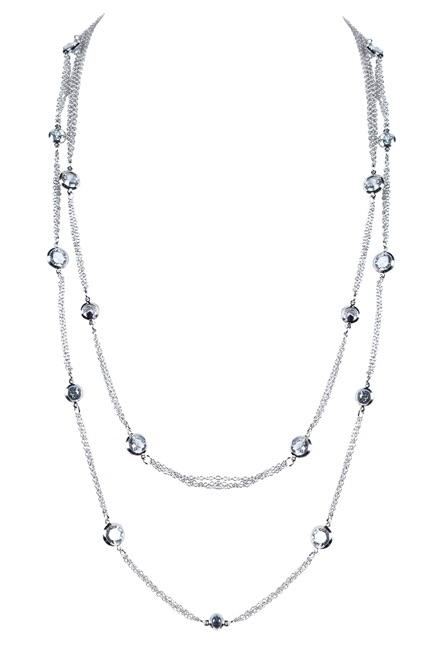 Ole Accessories Crystal Chain Necklace