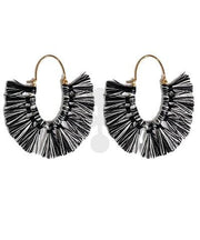 Stella Oval Fan Earrings