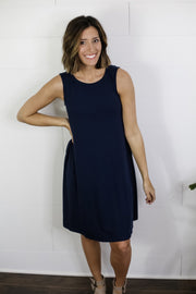 THE BEST DRESS (NAVY)