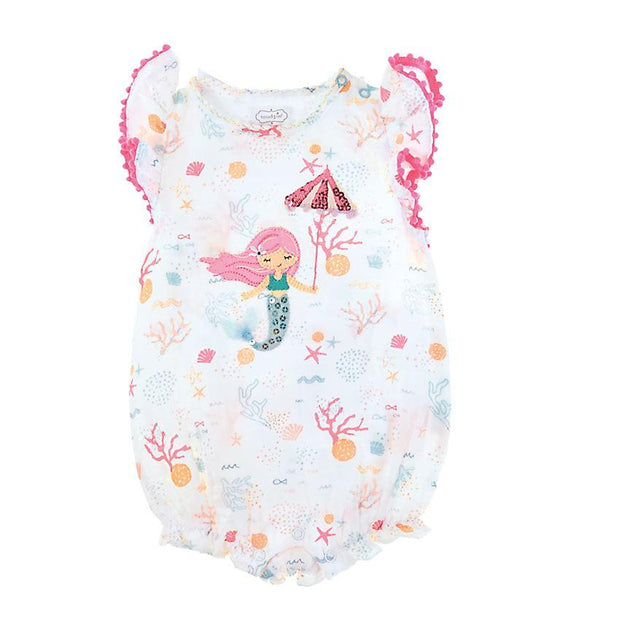 Mermaid Muslin Bubble 9-12 Months