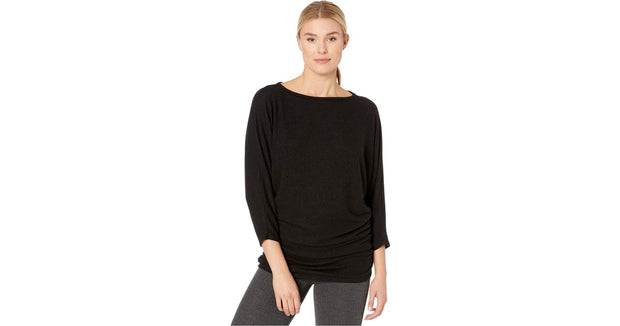 Nally and Millie Ruched Dolman Sleeve Tunic