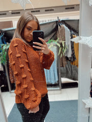 Daydreaming in Italy Pom Sweater