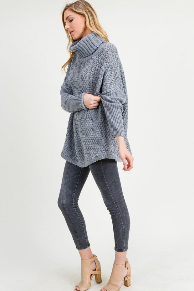Warm on the Weekend Chunky Sweater
