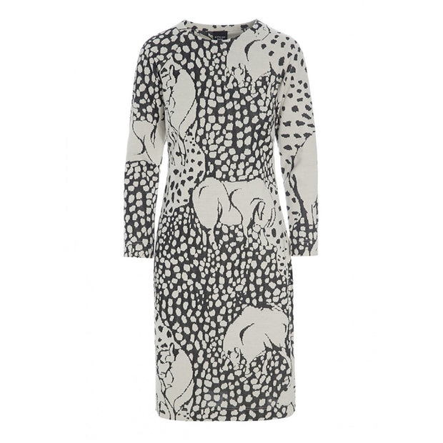 Bitte Kai Rand Jacquard Zoo Dress Ivory