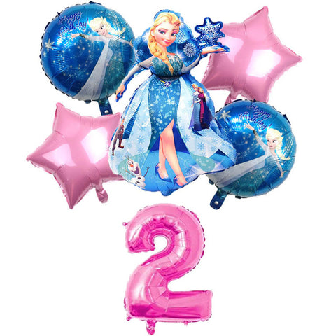 Ballon Frozen 2 ans