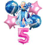 Ballon Frozen 5 ans