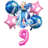 Ballon Frozen 9 ans