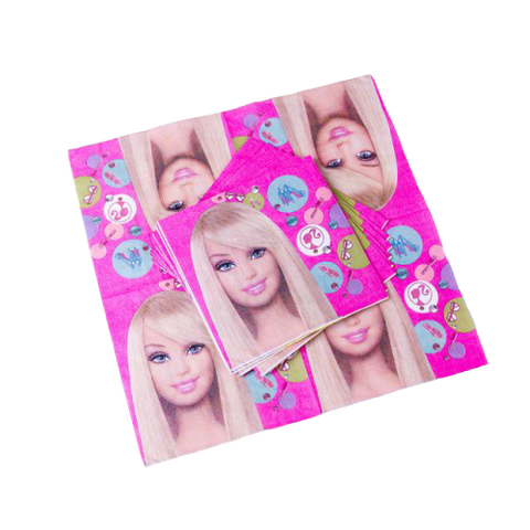 Serviette Barbie