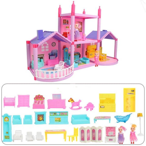 Maison Barbie Princesse Rose