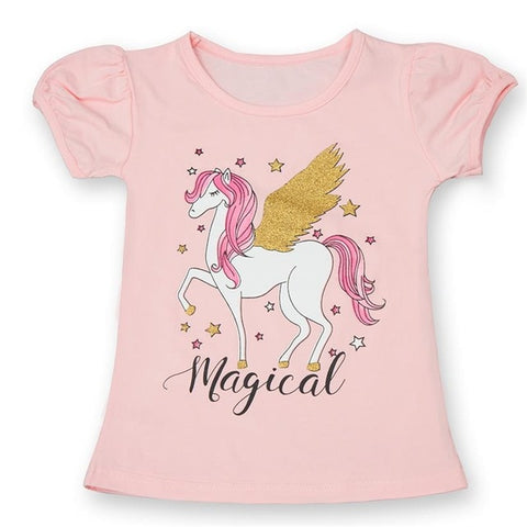 T-shirt Barbie Licorne