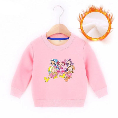 Pull Barbie Rose