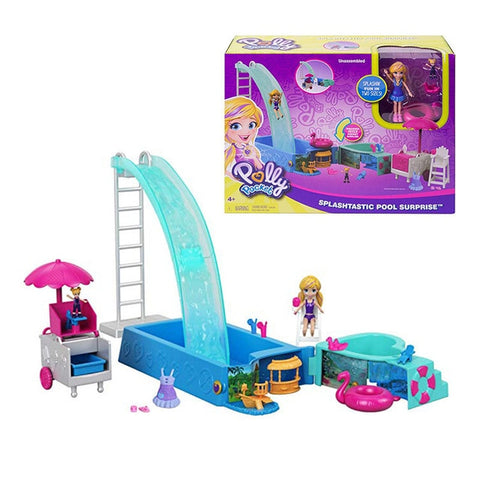 Polly Pocket Piscine et Toboggan