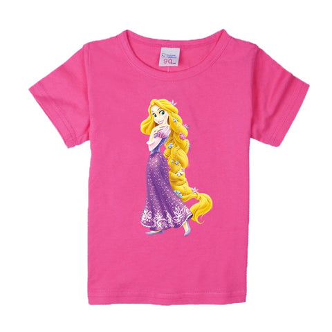 T-shirt Barbie Frozen