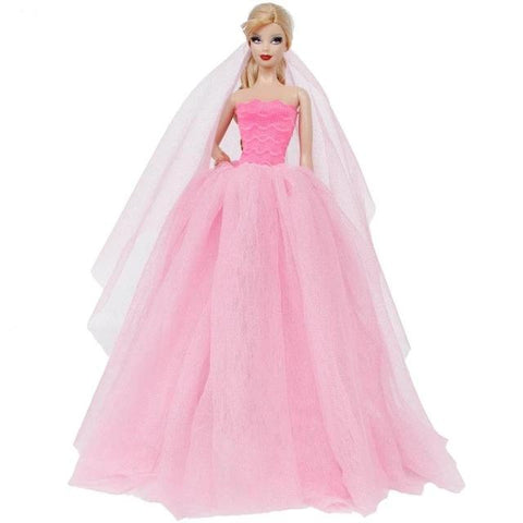 Tenue Barbie Princesse Robe en Rose