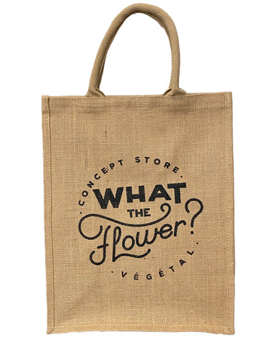 Tote Bag What The Flower