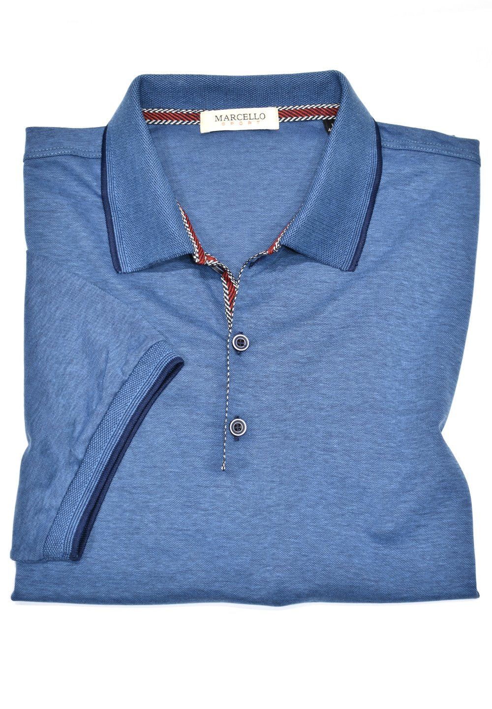 403 Denim Polo - Marcello Sport