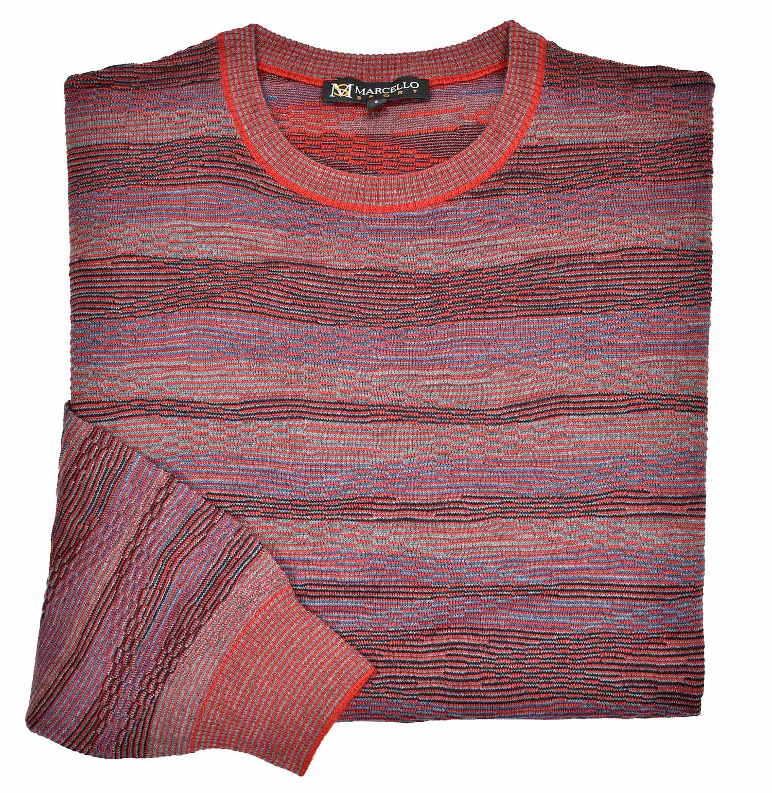 563 Bari Wave Sweater - Marcello Sport