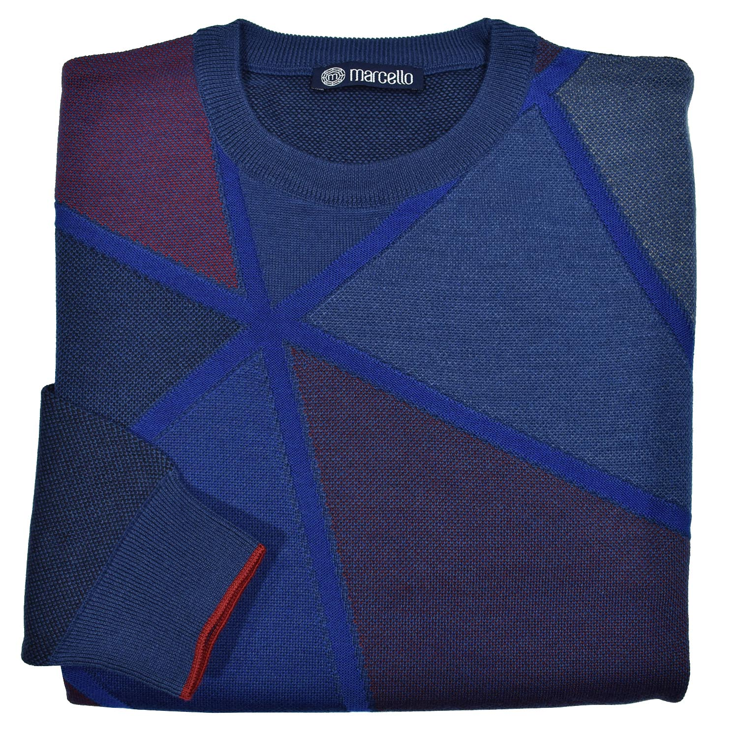 719 Jewel Mosaic Knit - Marcello Sport