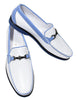 S006W  Surfside White Leather Shoe