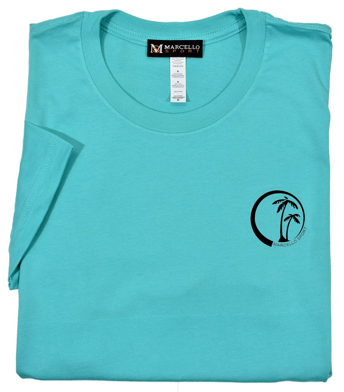 T002 Marcello Palm Tee - Marcello Sport
