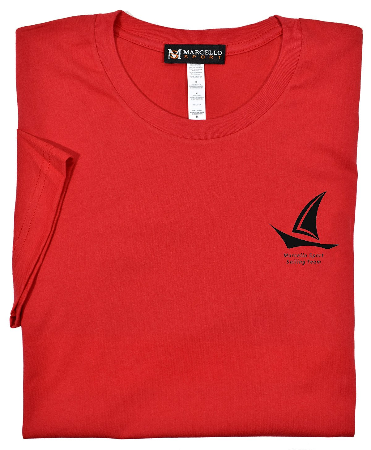 T003 Marcello Sail Tee - Marcello Sport