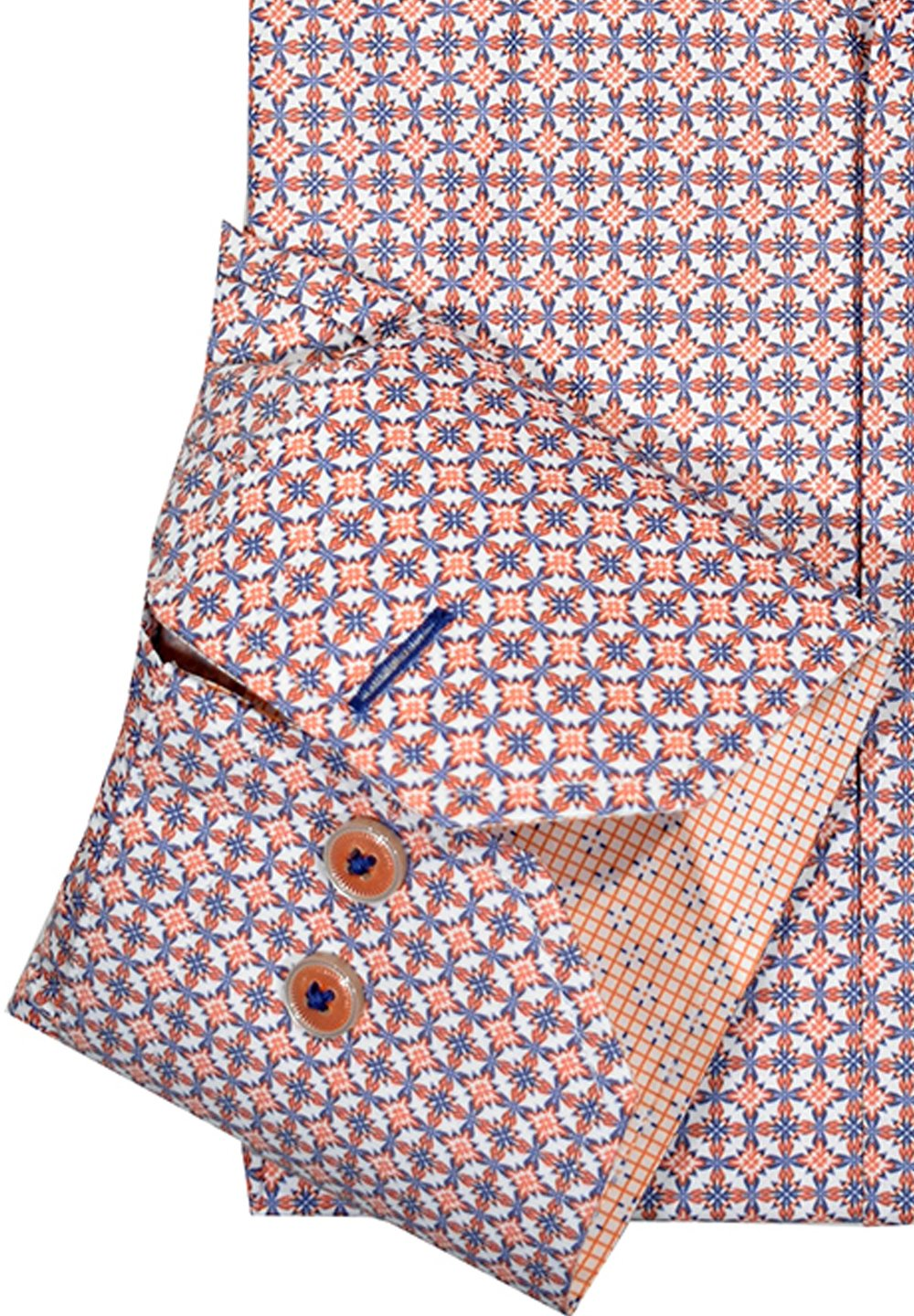 W1070 Mango Medallion Shirt - Marcello Sport