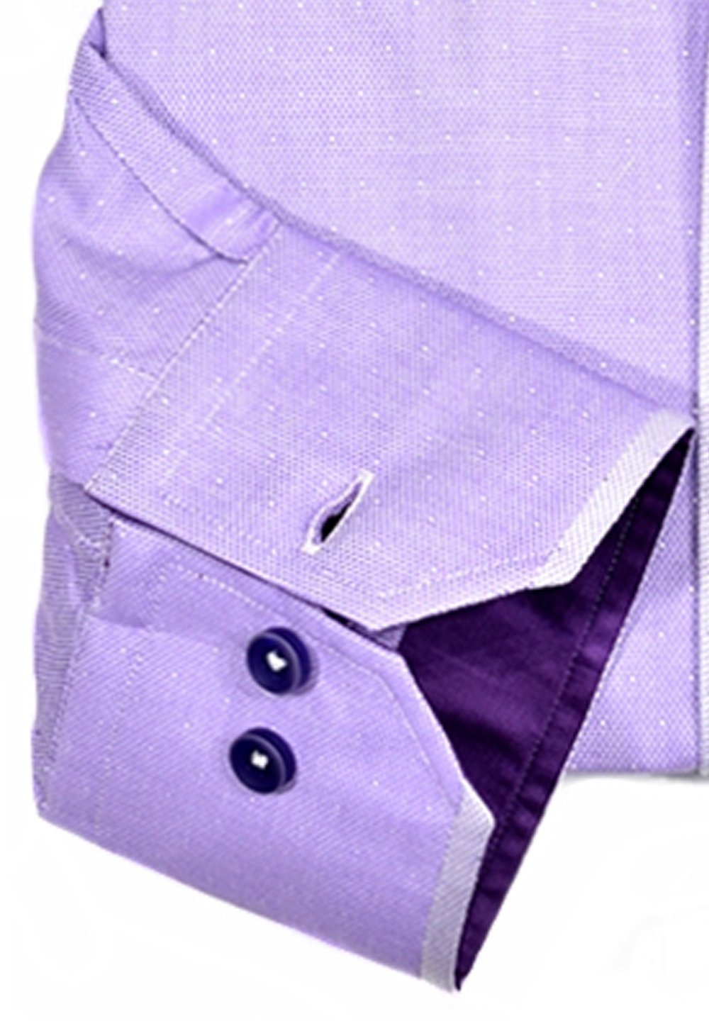 W725 Lilac Engineered Men's Shirt