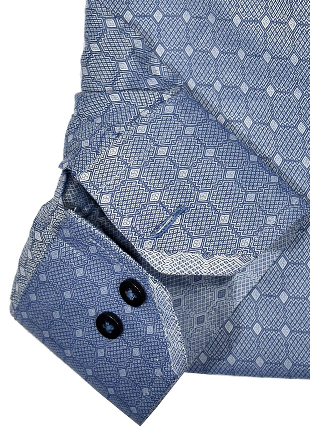 WS09N Marcello Sport Business Casual Mens Navy Shirt - Marcello Sport